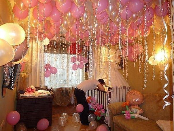 Как украсить комнату для беременных 57