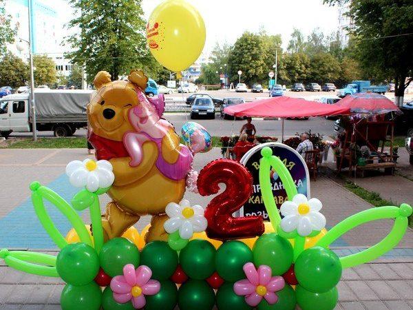 Композиция на детский день рождения