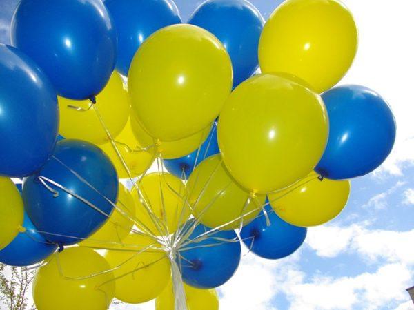 Гелиевый шарик, 12 дюймов (30см)
