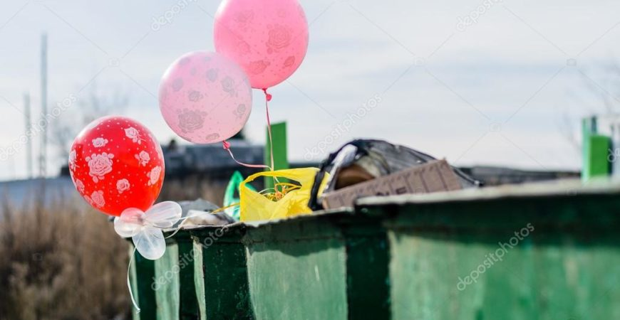 Правила эксплуатации и утилизации воздушных шаров
