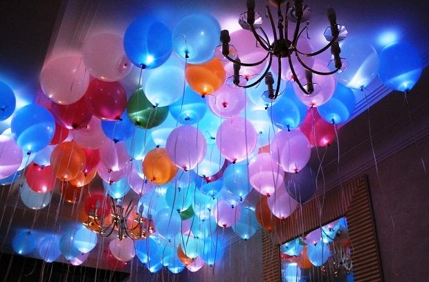 Светящиеся гелиевые шары - яркий праздник для всех