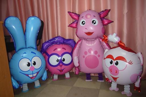 ходячие шары для детского праздника