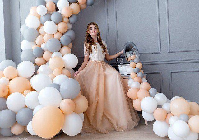 Идеи для фотосессии с воздушными шарами