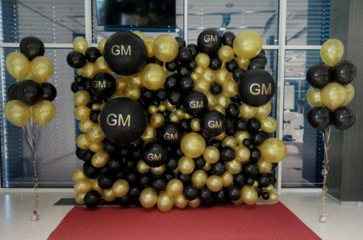 Гелиевые шары на корпоратив