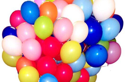 Доставка гелиевых шаров на День Рождения