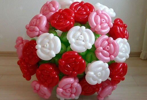 Гелиевые шары на заказ: букет из шаров