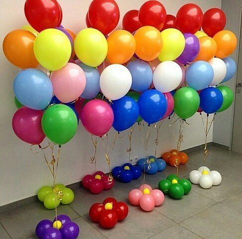 Гелевые и воздушные шары в Киеве