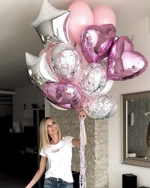 Гелиевые шарики для девушек