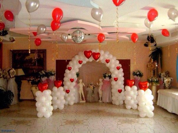 Шары на свадьбу на заказ